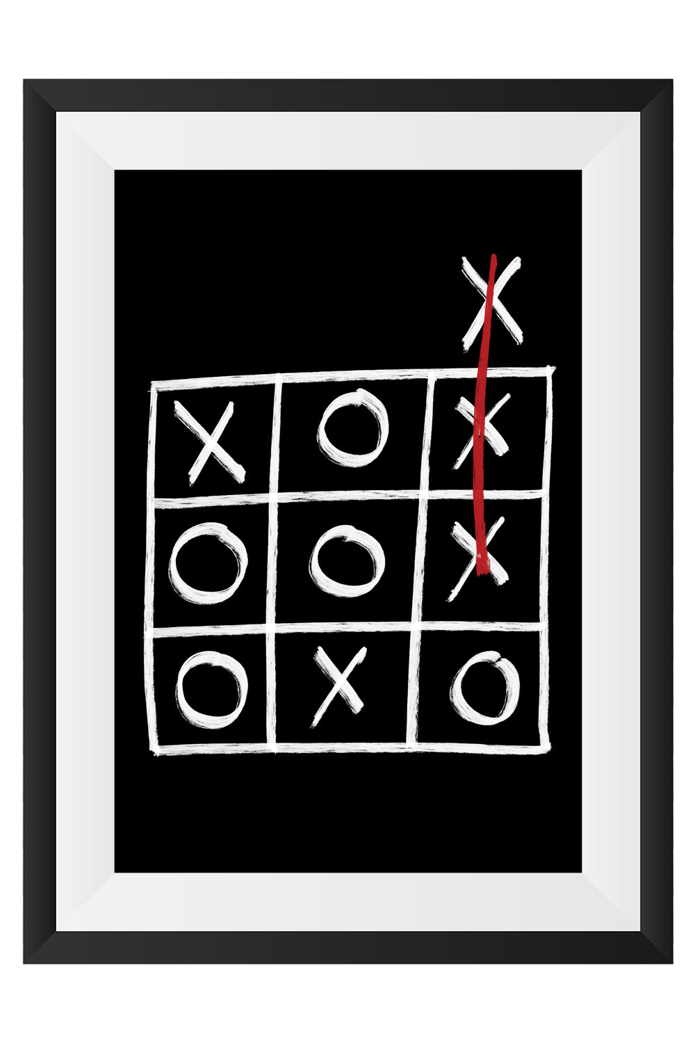 Naughts & Crosses Art