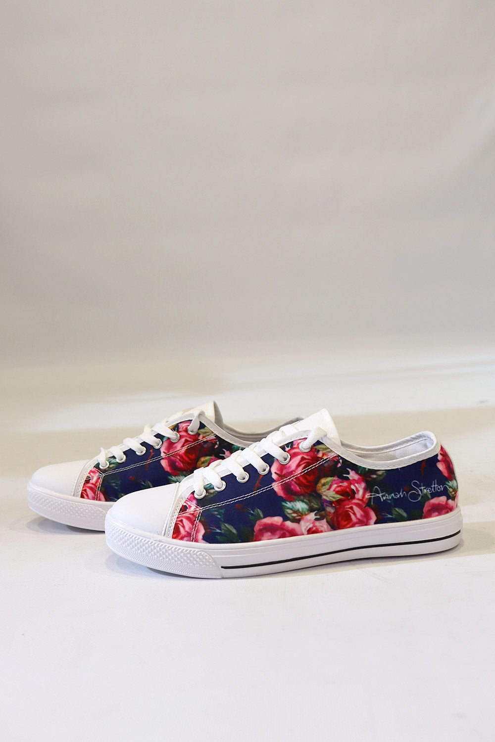 Navy Baby Canvas Shoe