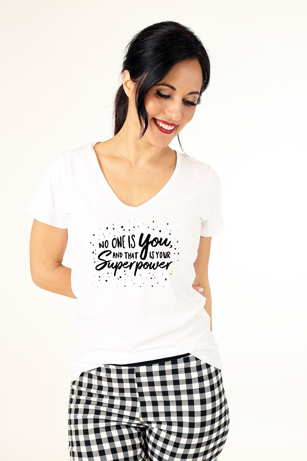 Super Power Tee - White