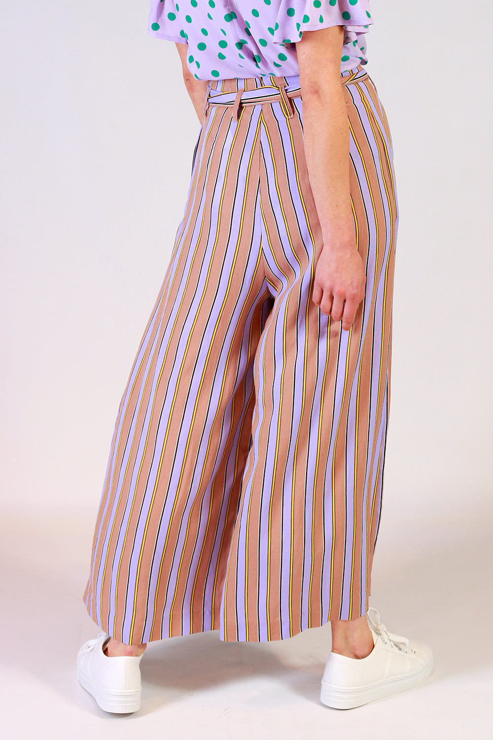 En Route Stripe Pants | Stretton NZ | Womens Fashion NZ | Stripe Pants NZ | Wide Leg Pants