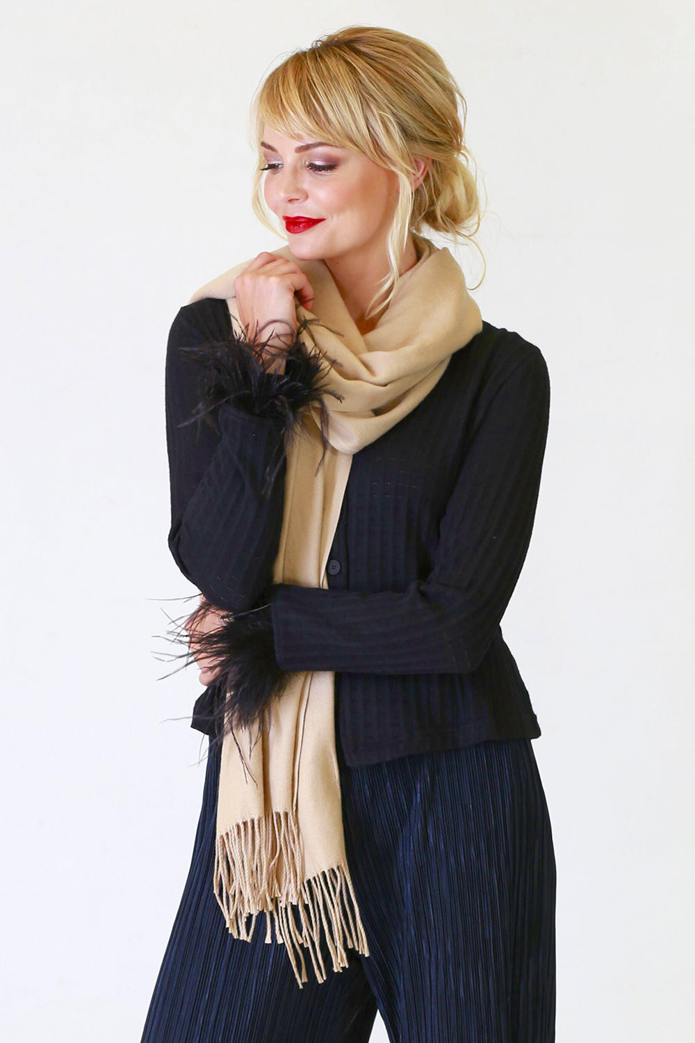 Perrie Scarf, Accessory, NZ Fashion, Annah Stretton Fashion