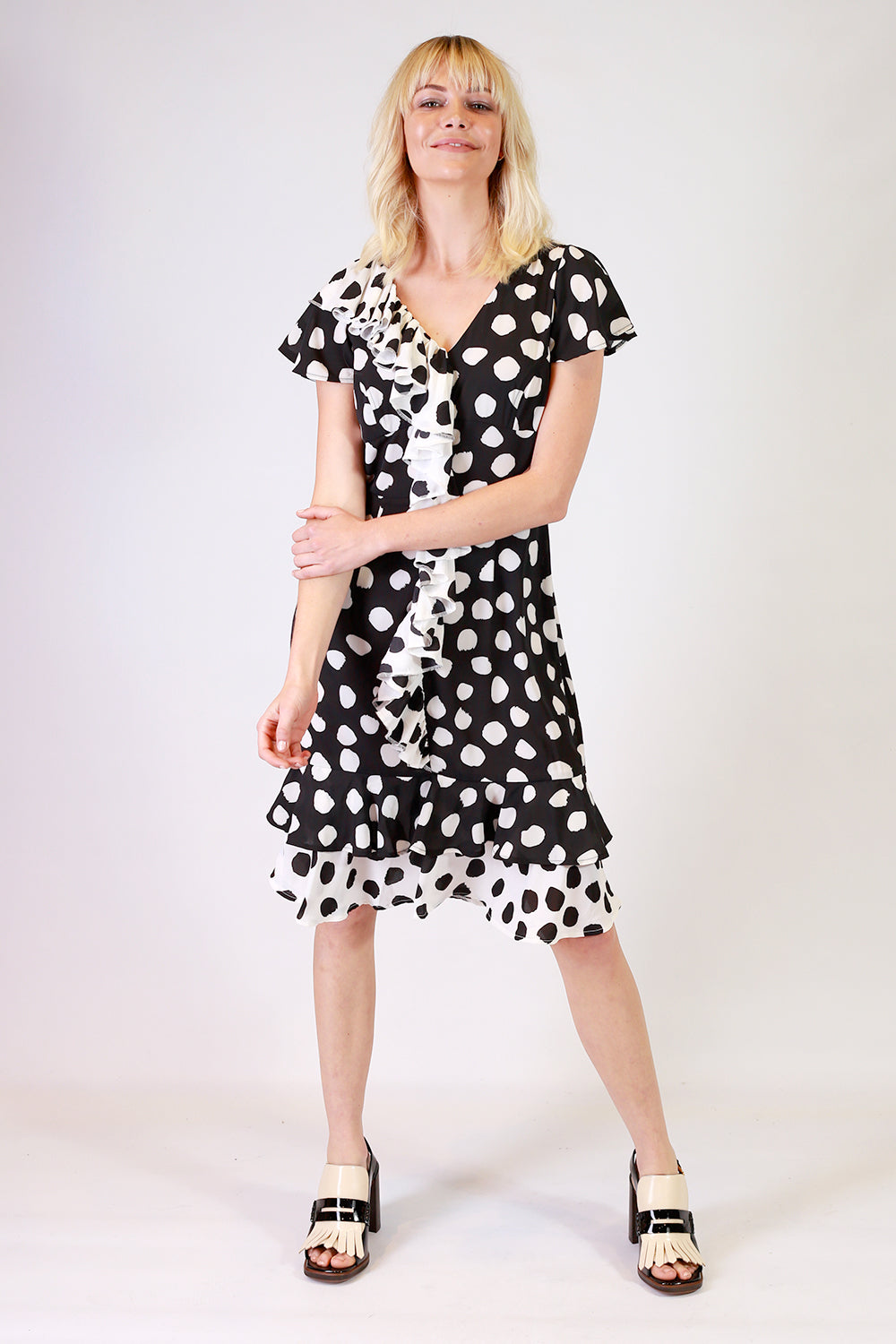 Pigeon Post Spot Dress | Stretton Dresses NZ | Spot Dresses NZ | Summer Dresses NZ
