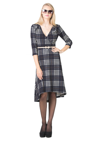 Sophie Plaid Dress