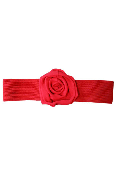 Ribbed Rose Belt