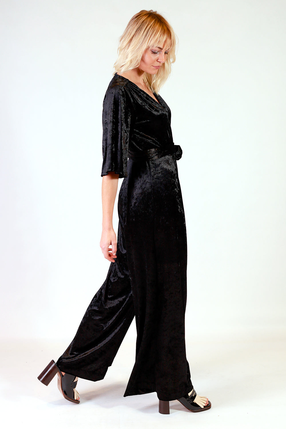 Y+ R Riley Velvet Jumpsuit