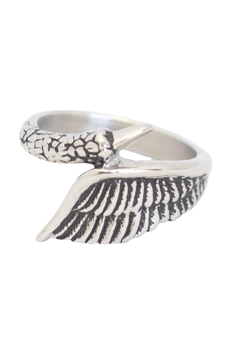 Swan Wing Ring - 4 LEFT ONLY