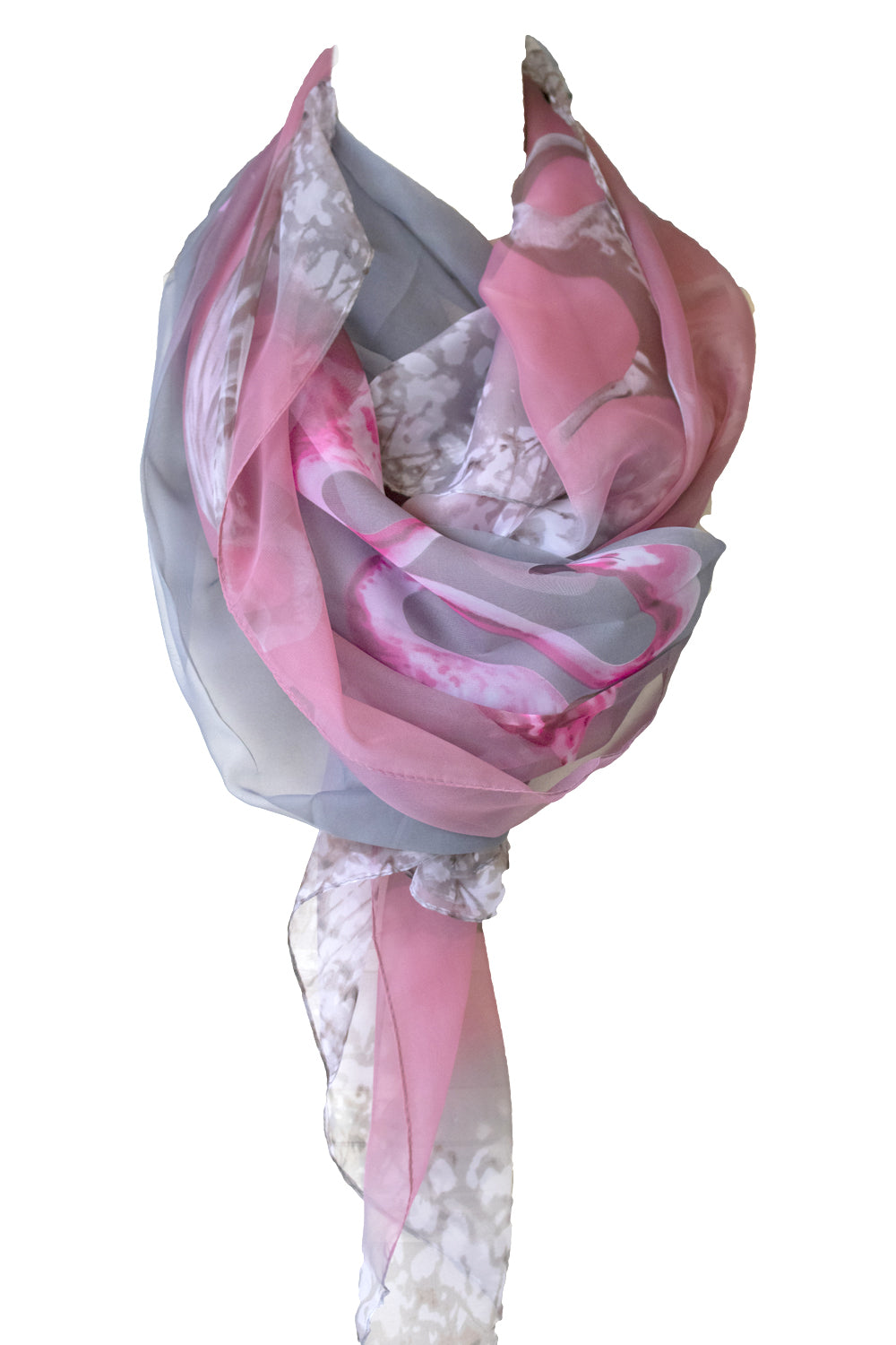 Flamingo Pier Scarf | Designer Fashion Accessories | Scarves | Annah Stretton