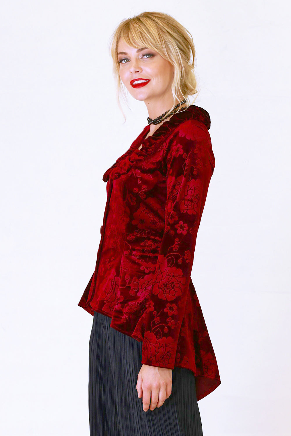 Secretly Yours Margo Velvet Jacket