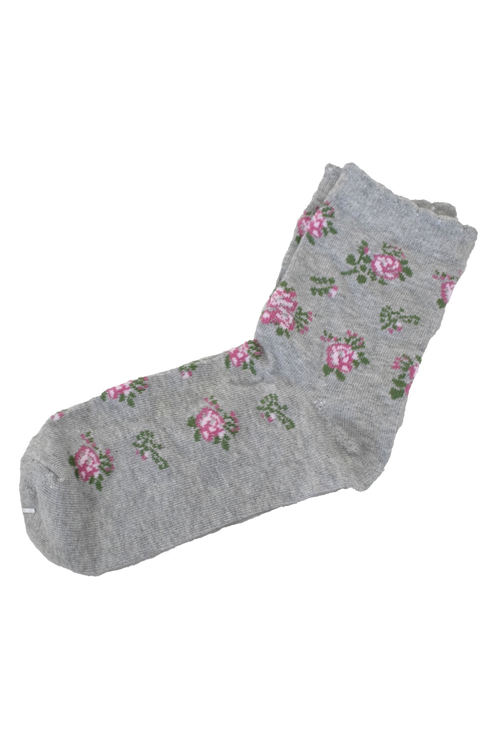 Frilly Floral Socks