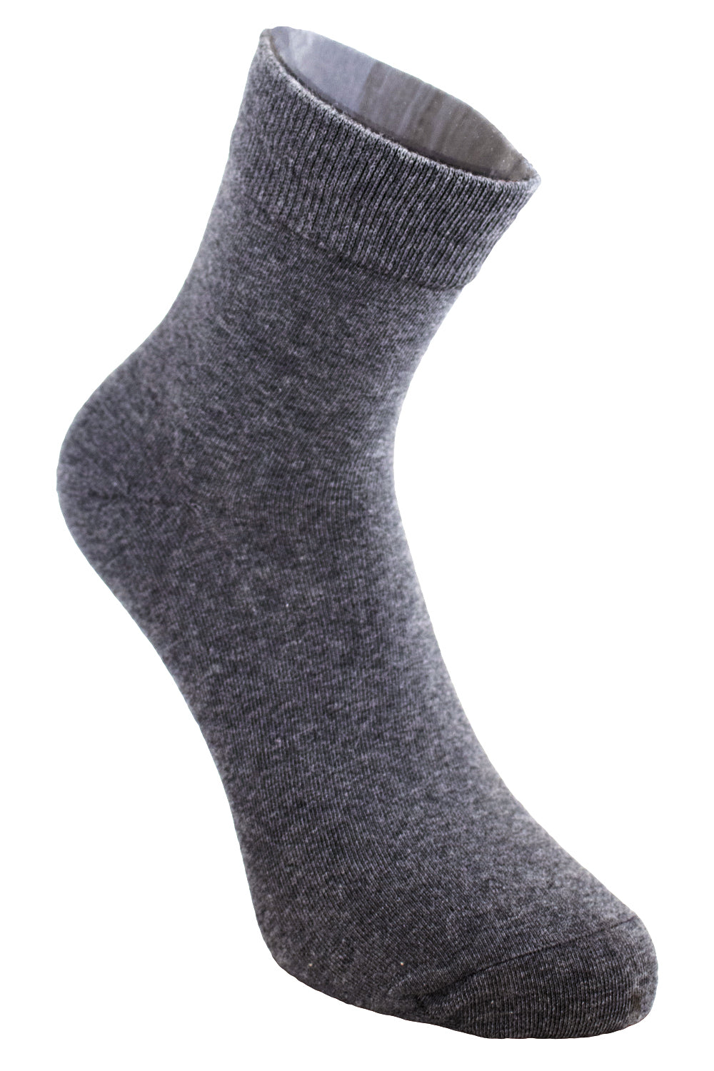 5 Day Mens Grey High Top Sock
