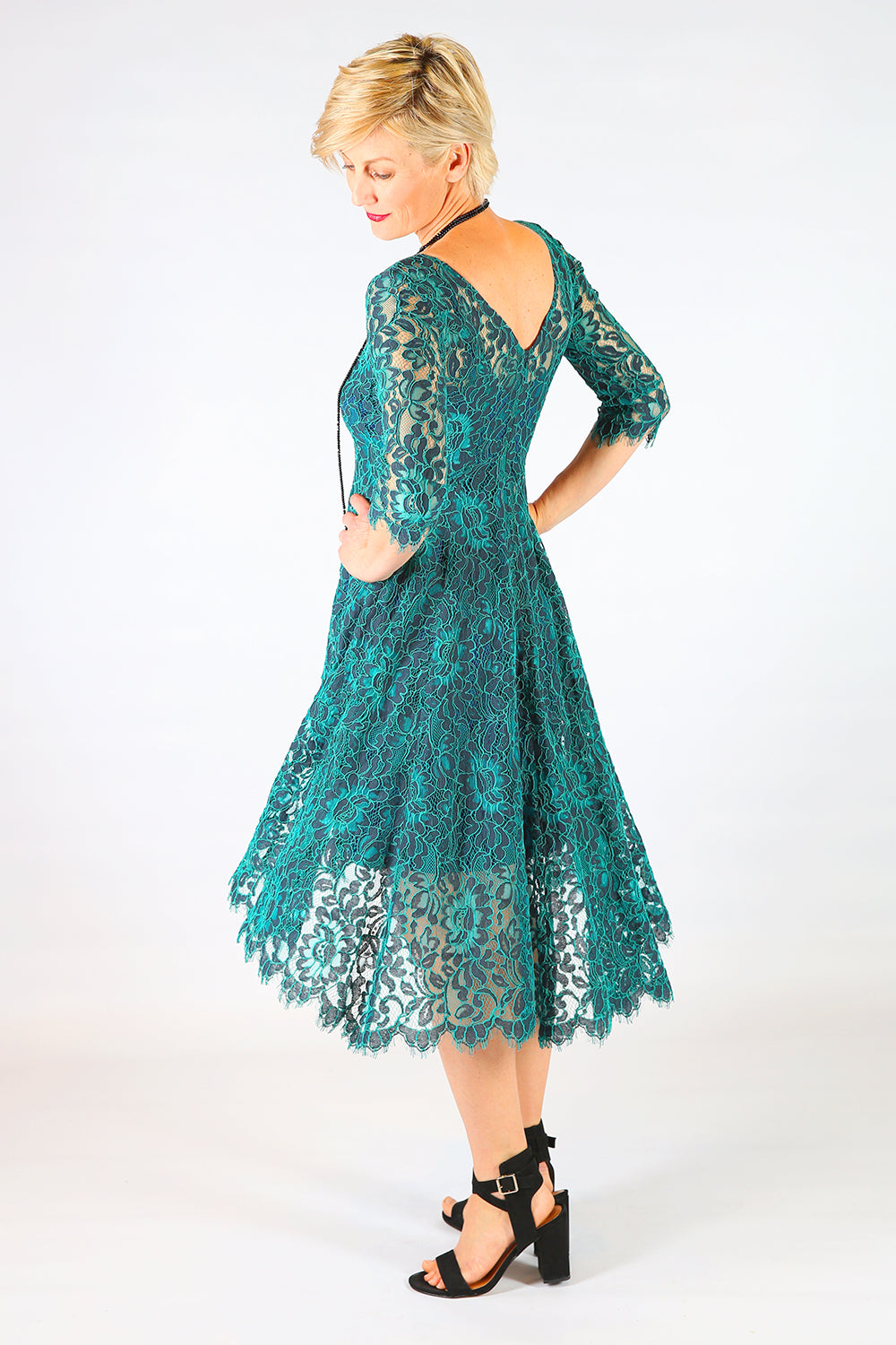 Summer Storm Lace Dress