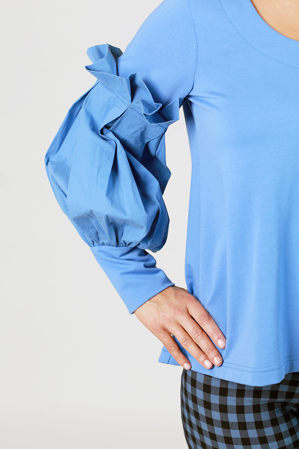 Tandy Top - Periwinkle