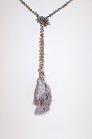 Temptress Tassel Necklace