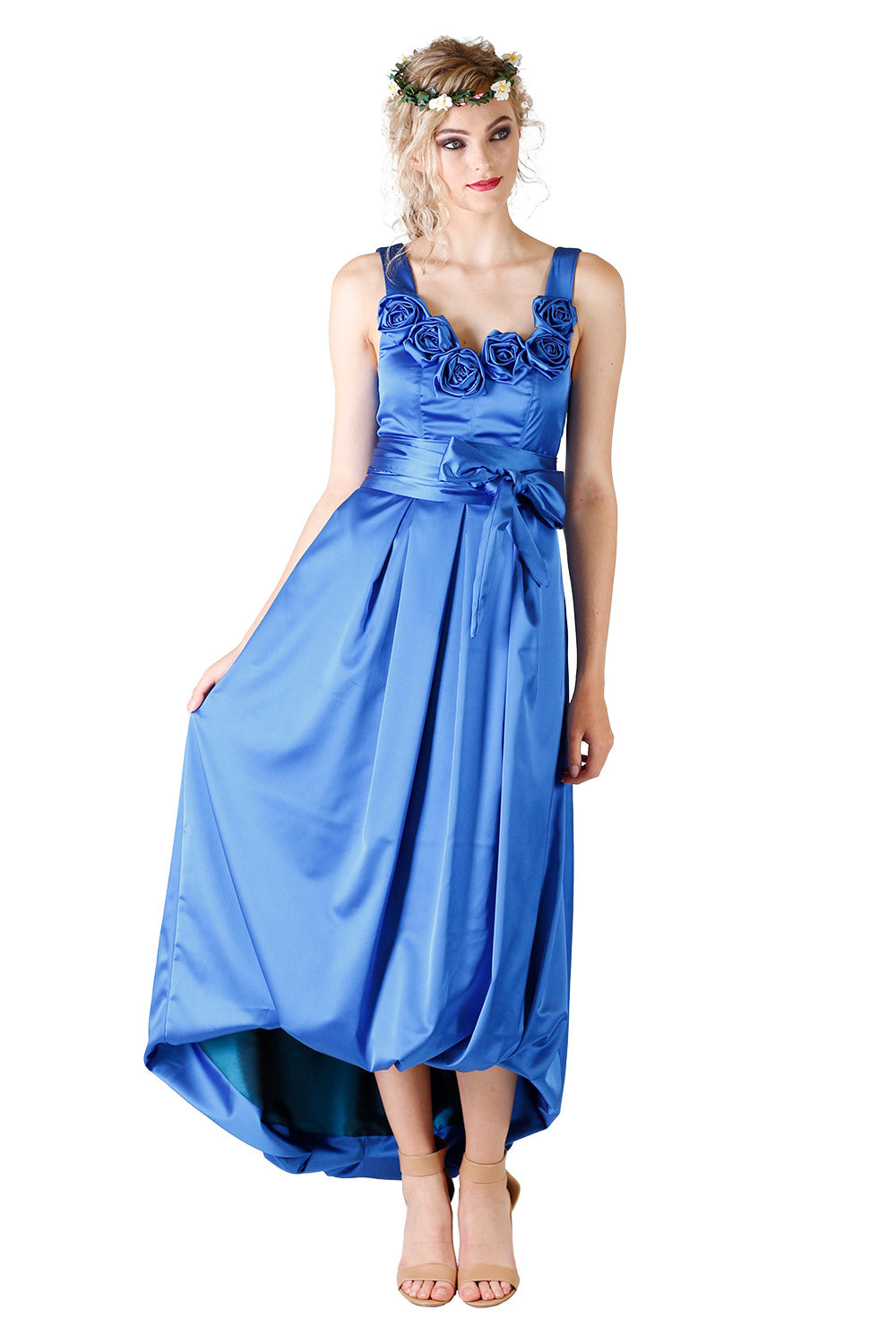 Blue / Bridesmaid Dresses NZ / Bridal Party NZ / Annah Stretton NZ / Designer NZ /
