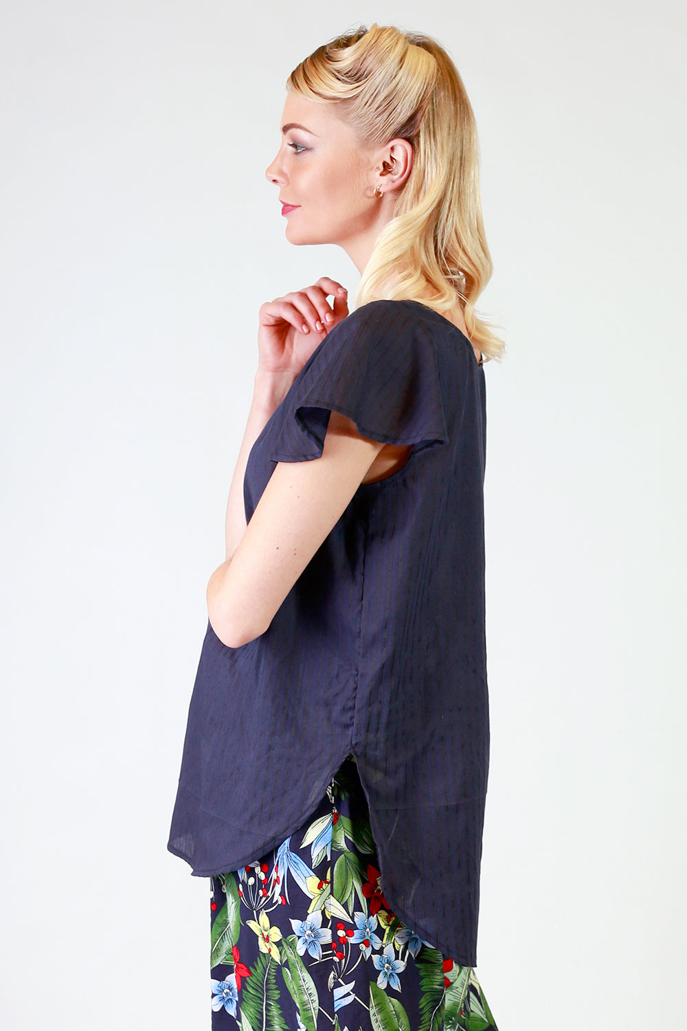 Speedy Delivery Top | Relaxed Fit Top NZ | Designer Fashion NZ | Tops NZ