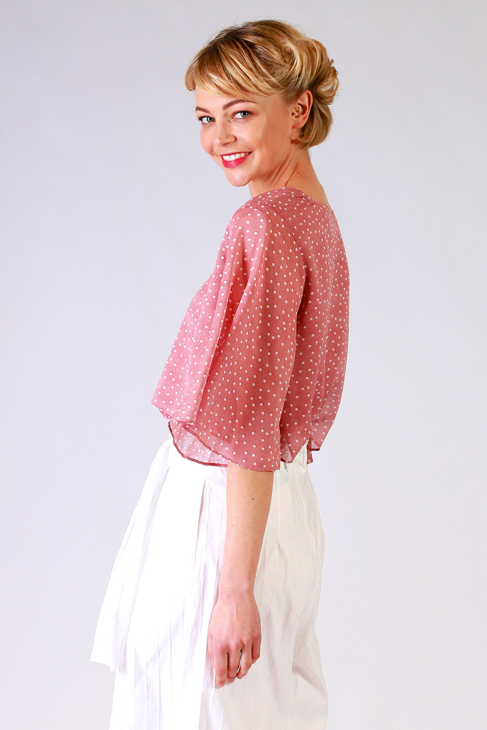 Cora Jazz Top | Pink Top | Tops | Summer Collection | Fashion Design | Annah Stretton | New Zealand Fashion Designer