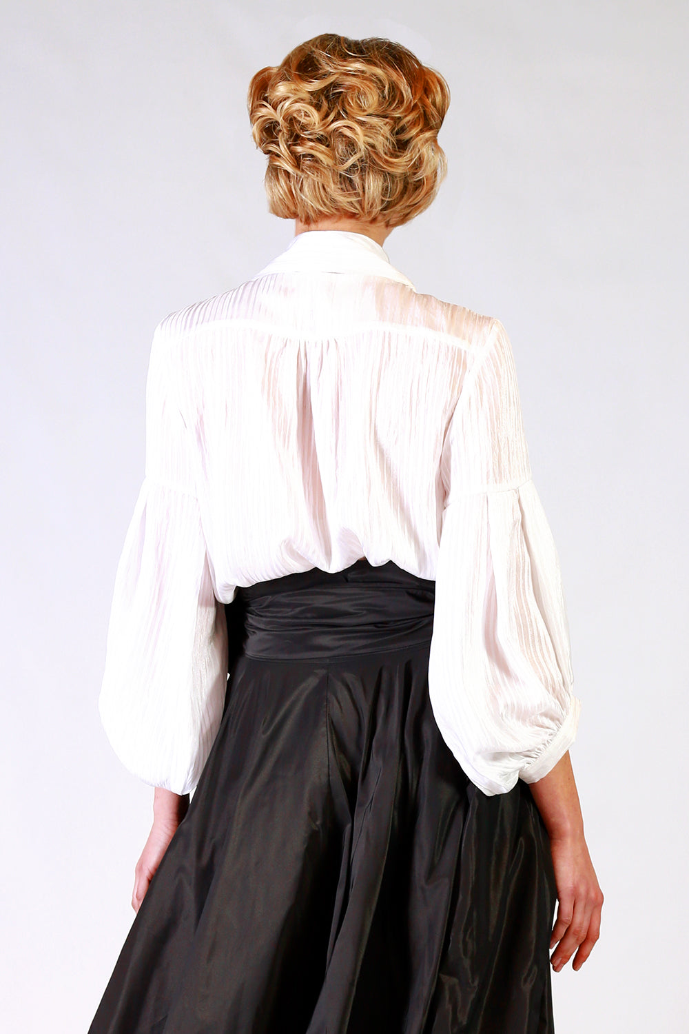 Pass The Parcel shirt | Neck Bow Top NZ | Designer Fashion NZ | Tops NZ
