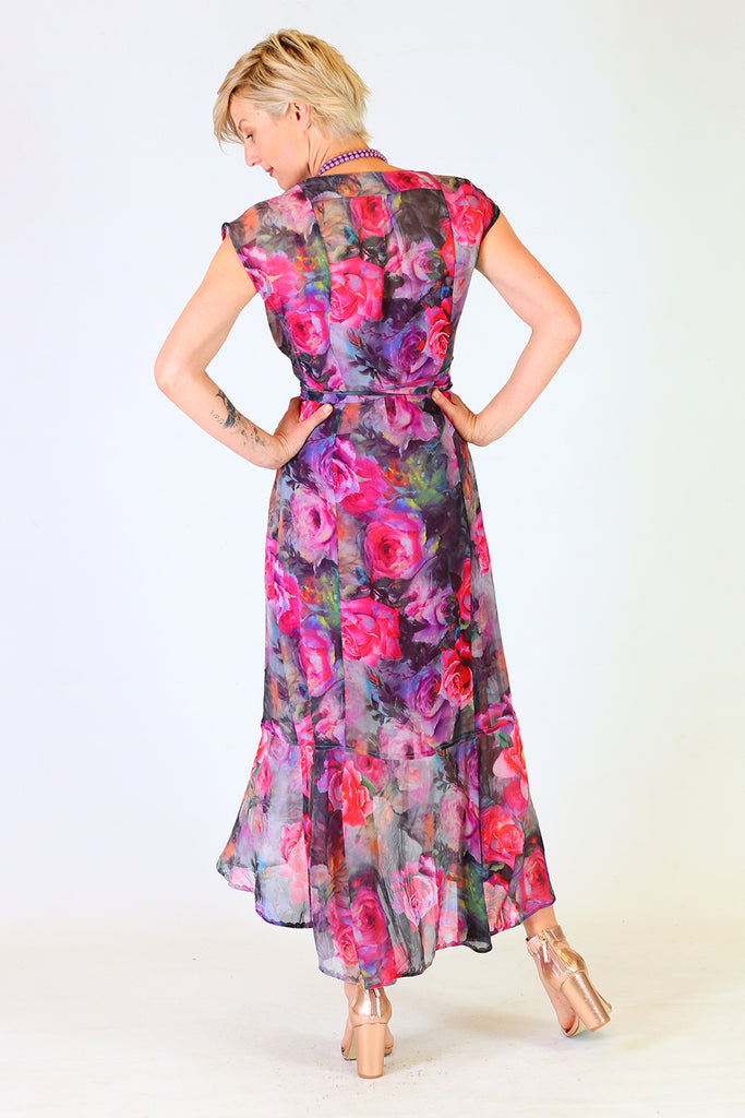 Vivian Flo Wrap Dress