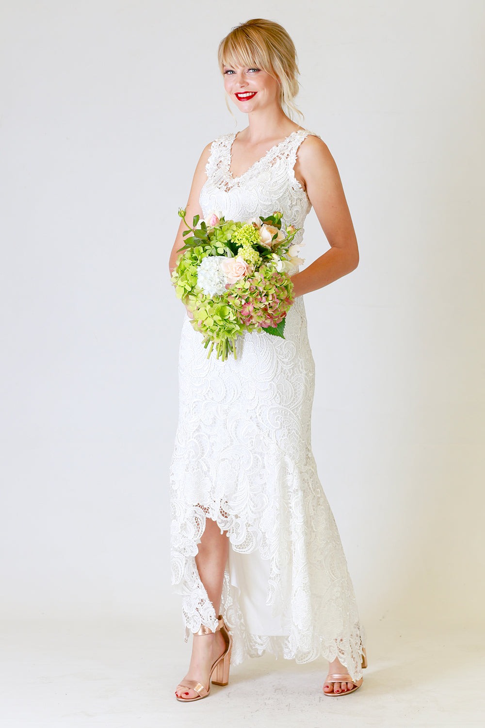 Dani Dress, Annah Stretton Bridal, Lace Wedding Dress, Shot on Model