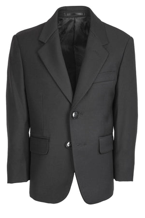 Aspen Kids Suit Jacket Notch (Separates) - 3 Boys / Black -