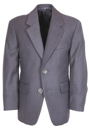 Aspen Kids Suit Jacket Notch (Separates) - 3 Boys / Steel