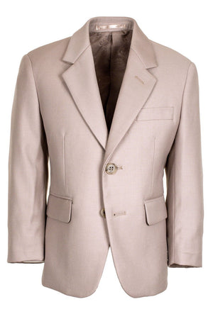 Aspen Kids Suit Jacket Notch (Separates) - 3 Boys / Tan -
