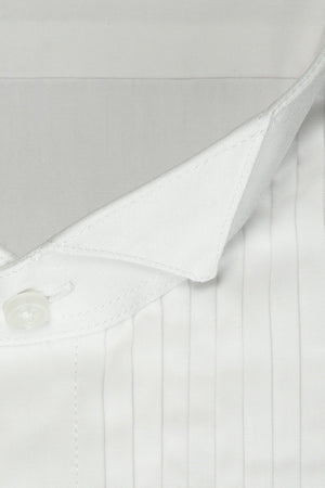 David White Wingtip Tuxedo Shirt - Camisa Caballero