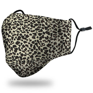 Face Mask Adult - Leopard - Face Mask