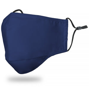 Face Mask Adult - Solid Navy - Face Mask