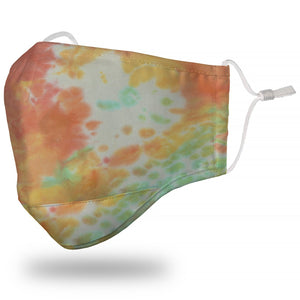 Face Mask Adult - Tie Dyed Multi-Color - Face Mask