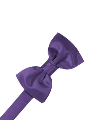 Luxury Satin Bow Tie - Freesia - corbatin caballero