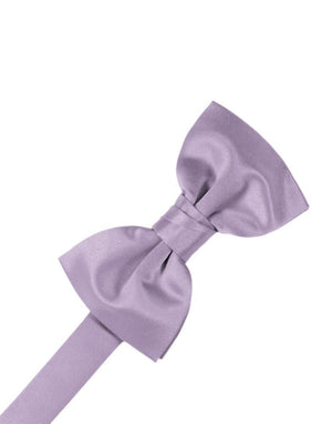 Luxury Satin Bow Tie - Heather - corbatin caballero