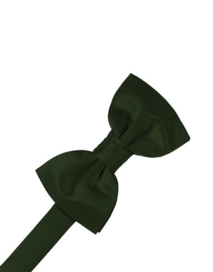 Luxury Satin Bow Tie - Holly - corbatin caballero