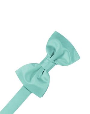 Luxury Satin Bow Tie - Mermaid - corbatin caballero