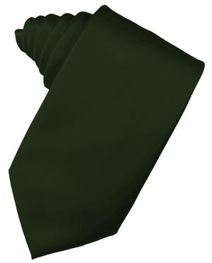 Luxury Satin Necktie Self Tie - Holly - corbata Caballero