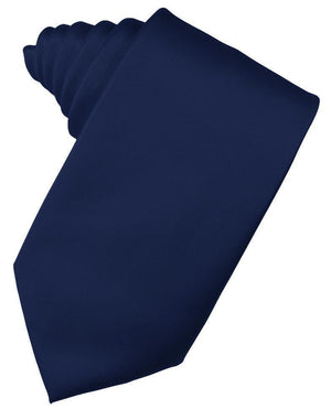 Luxury Satin Necktie Self Tie - Peacock - corbata Caballero