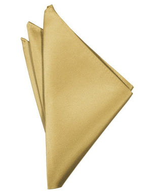 Luxury Satin Pocket Square - Harvest Maize - Pañuelo