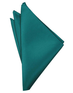 Luxury Satin Pocket Square - Jade - Pañuelo Caballero