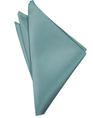 Luxury Satin Pocket Square - Mist - Pañuelo Caballero