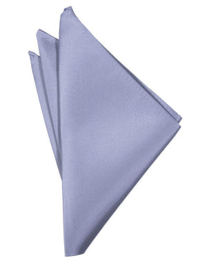 Luxury Satin Pocket Square - Periwinkle - Pañuelo Caballero