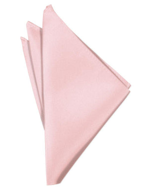 Luxury Satin Pocket Square - Pink - Pañuelo Caballero