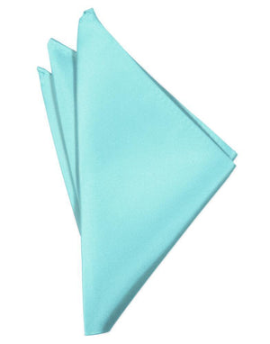 Luxury Satin Pocket Square - Pool - Pañuelo Caballero