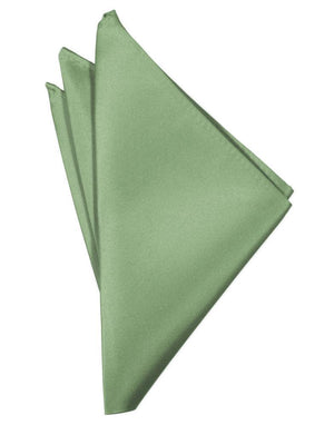 Luxury Satin Pocket Square - Sage - Pañuelo Caballero