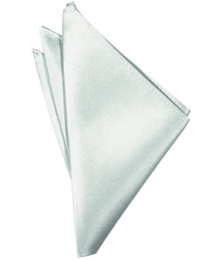 Luxury Satin Pocket Square - Sea Glass - Pañuelo Caballero