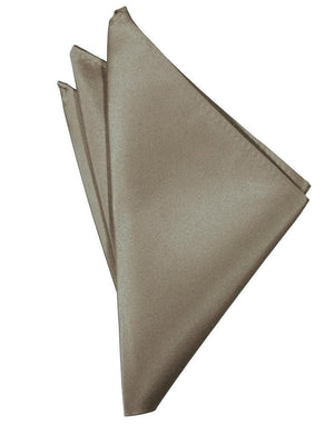 Luxury Satin Pocket Square - Stone - Pañuelo Caballero