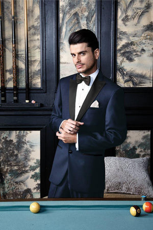 Milan Midnight Navy Tuxedo Jacket Peak (Separates) - Venta