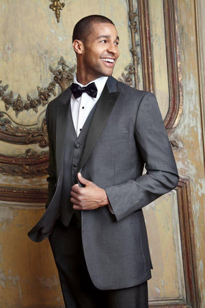 Milan Steel Grey Tuxedo Jacket Peak (Separates) - Venta
