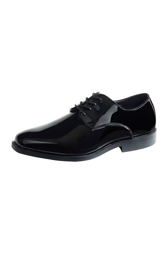 Nova Kids Black Tuxedo Shoes - 8T / Black - zapatos kids