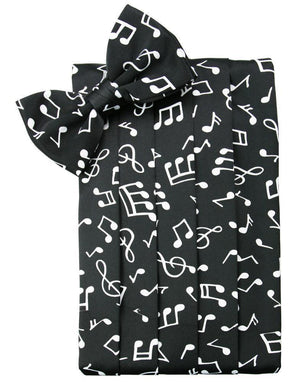 Novelty Cummerbund - Music Notes - Faja caballero