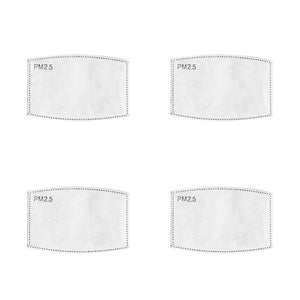 PM 2.5 Filter Inserts (Adult) - 4-Pack - Face Mask